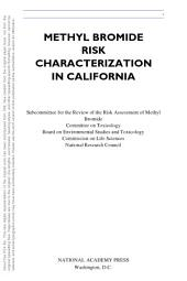 Methyl Bromide Risk Characterization in California