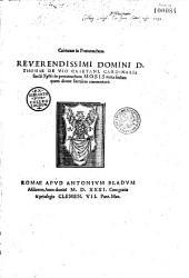 Caietanus in Pentateuchum. Reverendissimi domini D. Thomae de Vio Caietani, cardinalis sancti Xysti In Pentateuchum Mosis iuxta sensum quem dicunt litteralem commentarii