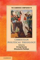 The Cambridge Companion to Political Theology PDF