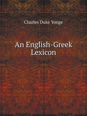 An English-Greek Lexicon