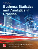 Business Statistics and Analytics in Practice Book