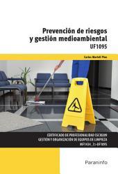 UF1095 - Prevención de riesgos y gestión medioambiental