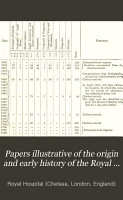 Papers Illustrative of the Origin and Early History of the Royal Hospital at Chelsea PDF