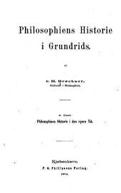 Philosophiens historie i grunds: Philosophiens historie i den nyere tid