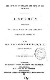 The Church of England and five of her societies, a sermon