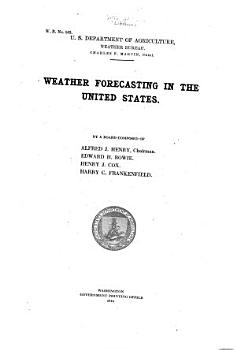 Weather Forecasting in the United States PDF