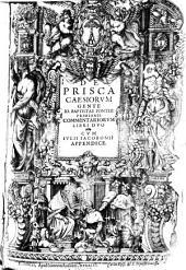 De prisca Caesiorum gente ... commentariorum libri duo