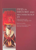 Dyes in History and Archaeology 19 PDF