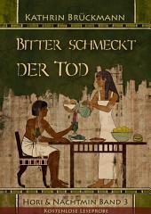 Bitter schmeckt der Tod - Leseprobe: Hori & Nachtmin, Band 3