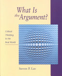 What is the Argument  PDF