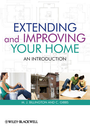 Extending and Improving Your Home