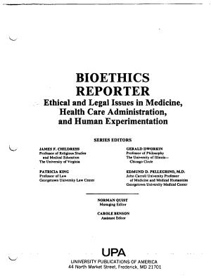 Bioethics Reporter
