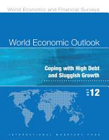 World Economic Outlook  October 2012 PDF