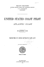 United States Coast Pilot: Atlantic Coast