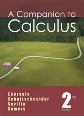 A Companion to Calculus: Edition 2