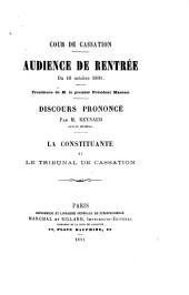 La constituante et le Tribunal de cassation