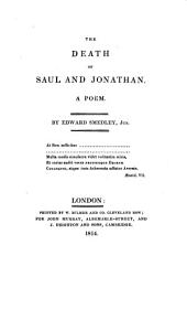 The death of Saul and Jonathan, a poem