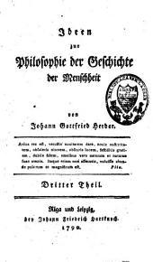 Ideen zur Philosophie der Geschichte der Menschheit: I-IV