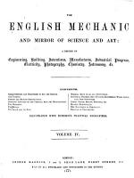 English Mechanic and Mirror of Science and Arts PDF