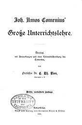 Joh. Amos Comenius' Grosse Unterrichtslehre