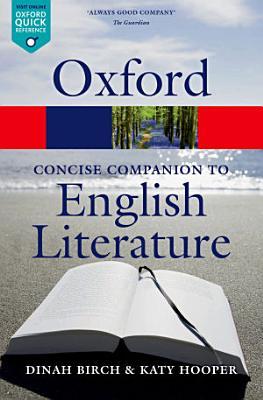 The Concise Oxford Companion to English Literature PDF