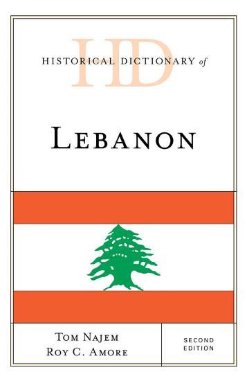 Historical Dictionary of Lebanon PDF