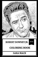 Robert Downey Jr Coloring Book