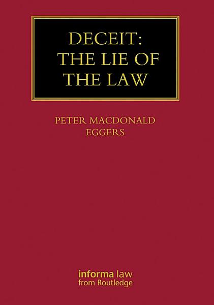 Deceit  The Lie of the Law