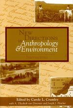 New Directions in Anthropology and Environment