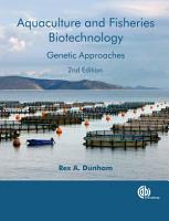 Aquaculture and Fisheries Biotechnology and Genetics PDF