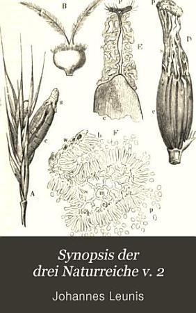 Synopsis der drei Naturreiche v  2 pt  3  1886 PDF