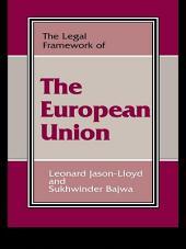 The Legal Framework of the European Union