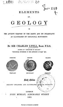 Elements of Geology Or the Ancient Changes of the Earth and Its Inhabitants as Illustrated by Geological Monuments PDF