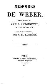 Bibliothèque des mémoires relatifs a l'histoire de France pendant le 18me siècle avec avant-propos et notices, par Jean François Barriere: Volume7