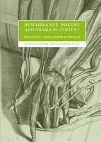 Renaissance Poetry and Drama in Context PDF