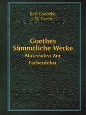 Goethes S?mmtliche Werke