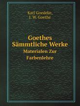 Goethes S mmtliche Werke PDF