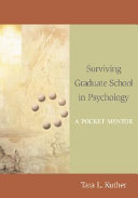 Surviving Graduate School in Psychology