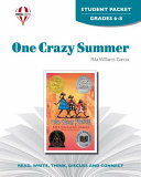 One Crazy Summer Student Packet Book
