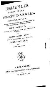 Sacrement de l'ordre ... Bénf́icae et aimonie. [By F. Babin.]