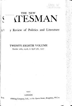 The New Statesman PDF