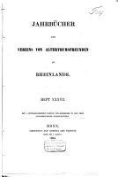 Jahrb  cher des Vereins von Alterthumsfreunden im Rheinlande PDF