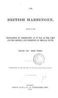 The British Harbinger PDF