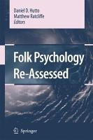 Folk Psychology Re Assessed PDF