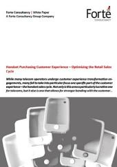 Handset Purchasing Customer Experience – Optimizing the Retail Sales Cycle