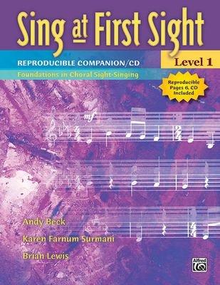 Sing at First Sight Reproducible Companion CD