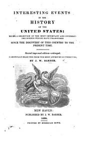 Interesting Events in the History of the United States ... Second improved edition, etc