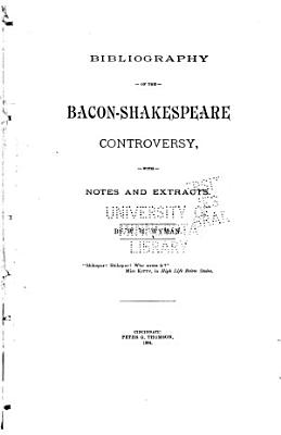 Bibliography of the Bacon Shakespeare Controversy