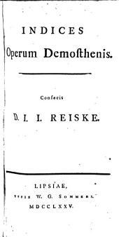 Indices Operum Demosthenis