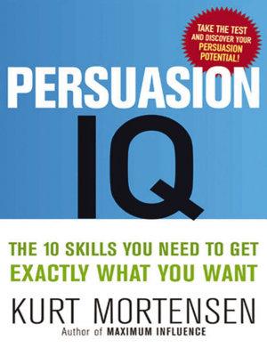 Persuasion IQ